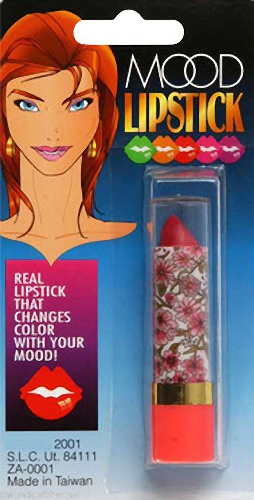UNUSUAL COOL COLOUR CHANGING MOOD LIPSTICK WEIRD FUN WOMANS LADIES GIRLS GIFT in Collectables, Weird Stuff, Totally Bizarre | eBay