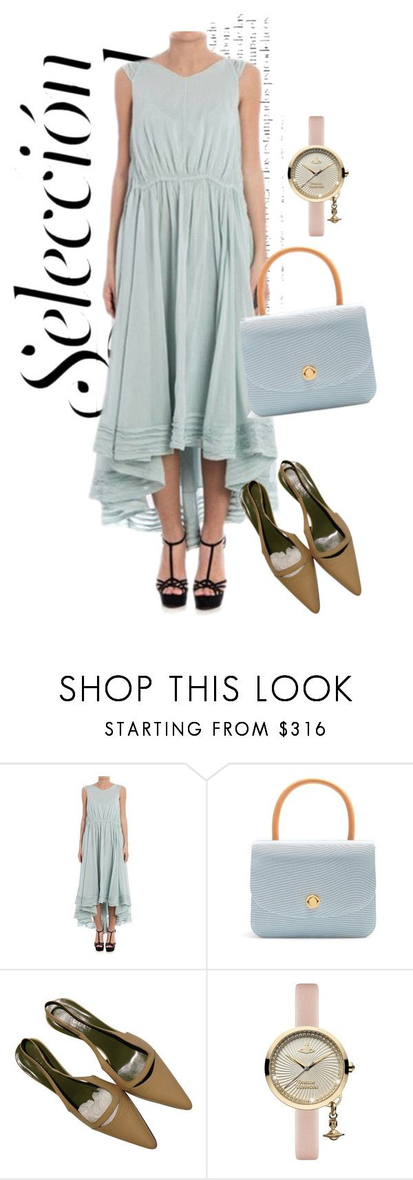 """""""dress"""" by masayuki4499 ❤ liked on Polyvore featuring Forte Forte, Mansur Gavriel, Gucci and Vivienne Westwood"""