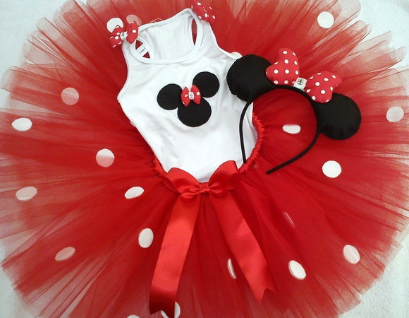 Conjunto Tutu Minnie                                                                                                                                                     Mais