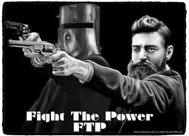 Ned Kelly. Such is life.