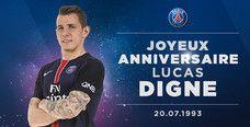 Bon anniversaire Lucas Digne !