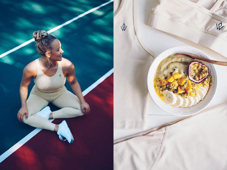 Så var det dags för en ny #tastethelook i samarbete med Workout Empire! I mitt förra inlägg var det ju recept på en green queen smoothie med inspiration från deras set Khaki, läs mer här (klick).