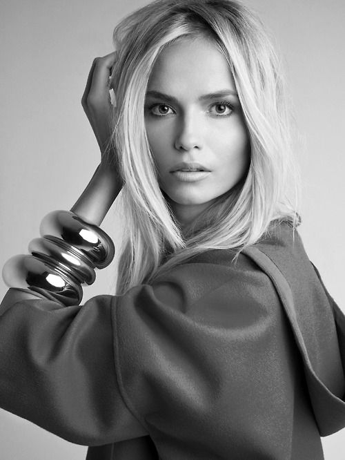 Natasha Poly shot by Patrick Demarchelier for Vogue China January 2014