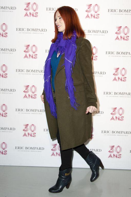 Audrey Fleurot à Paris le 15 octobre 2015