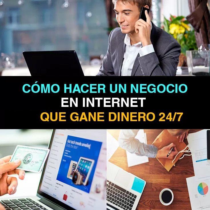 Cómo Hacer Un Negocio Por Internet Que Gane Dinero 247 En