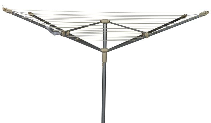 B&Q 4 Arm Rotary Airer 50m | Departments | DIY at B&Q