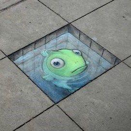 Le divertenti Creature by David Zinn – Street Art – #art #David #divertenti #Kre …   – Art