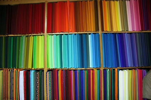 rainbows of cloth