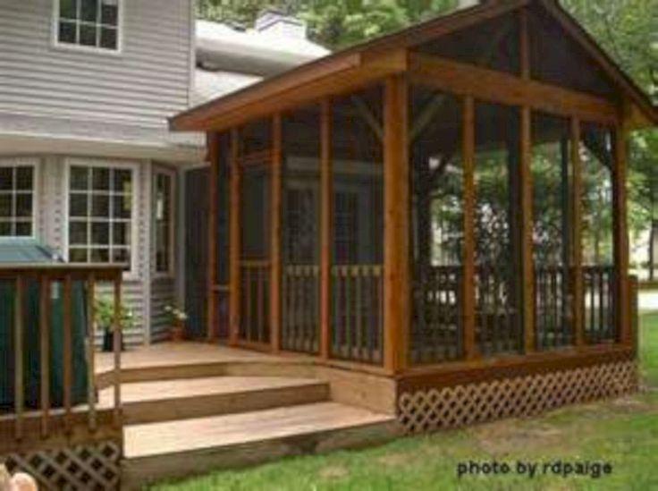 Wonderful Screened In Porch and Deck: 119 Best Design Ideas https://www.futuristarchitecture.com/19080-screened-porch-deck.html