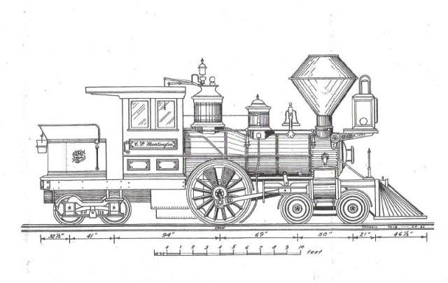 steam locomotive diagram