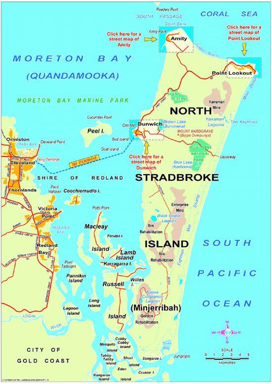 North Stradbroke Island Ferry Times