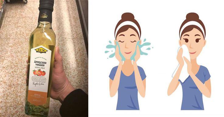 Vele van ons weten dat appelcider azijn handig kan zijn voor allerlei verschillende doeleinden. Maar wat veel mensen niet weten is dat het ook wonderen kan verrichten voor onze huid.