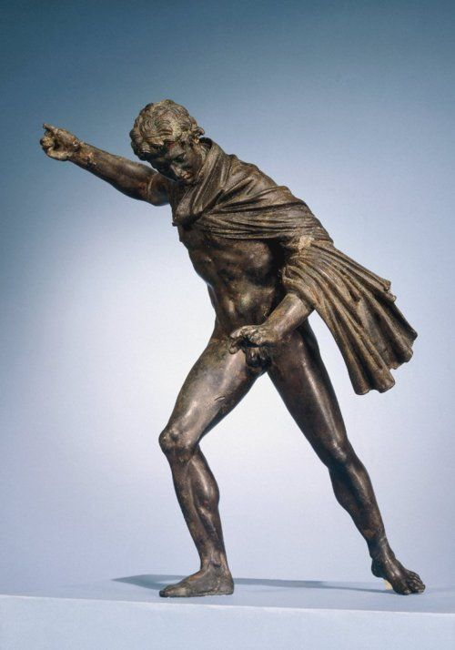 Huntsman (possibly Alexander the Great), Hellenistic statuette (bronze), 3rd-2nd century BC, (British Museum, London).