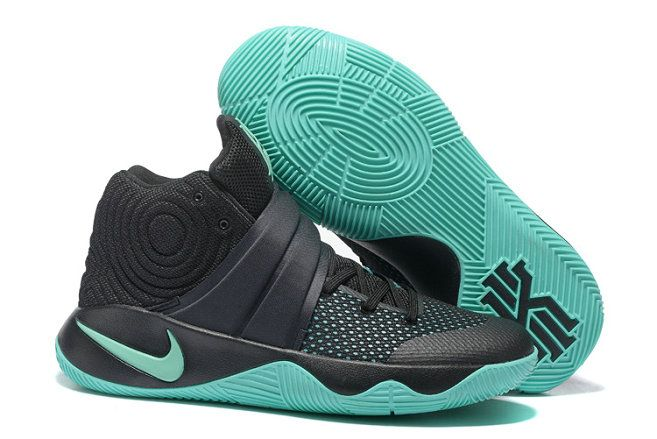 cheap for discount 28cc3 0061b Nike Kyrie 2 Wholesale Nike Kyrie Irving 2 Shoes Black Light Green for Sale