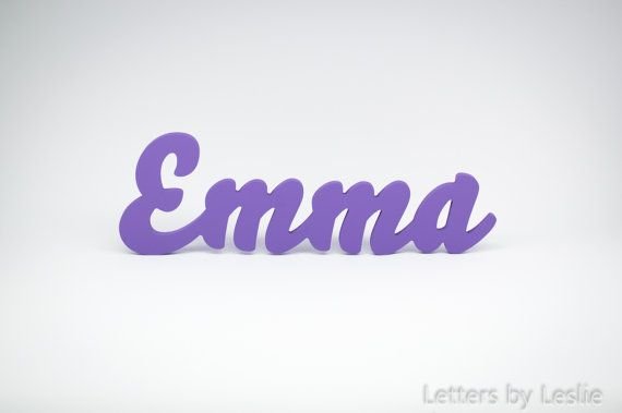 Custom Nursery wall Decor Name signs for wall by LettersbyLeslie, $45.00