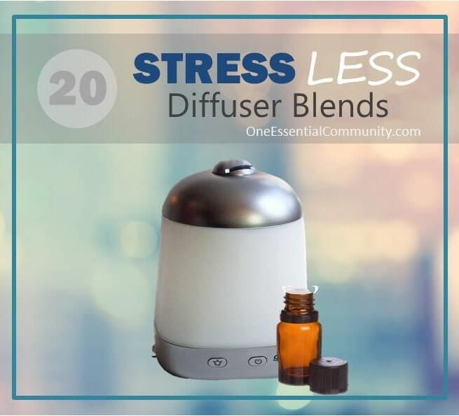 Essential Oils Diffuser For Less ~ Calming diffuser blends for stress diffusers