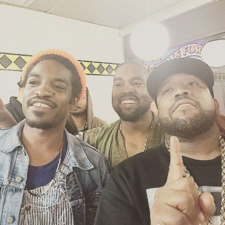 Though he was raised in Chicago, Kanye West was born in the ATL — the city which gets to lay claim to being the site of the very first Waffle House in 1955. After he performed at last summer's Hot 107.9 Birthday Bash, Yeezyshowed up there with two of Atlanta's finest, Outkast's Andre 3000 and Big Boi. (Photos: Instagram)