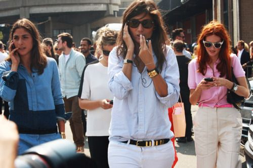 ...: Emmanuellealt, Emmanuel Alt, Street Style, Men Shirts, Style Icons, White Pants, White Jeans, Emmanuelle Alt, French Style
