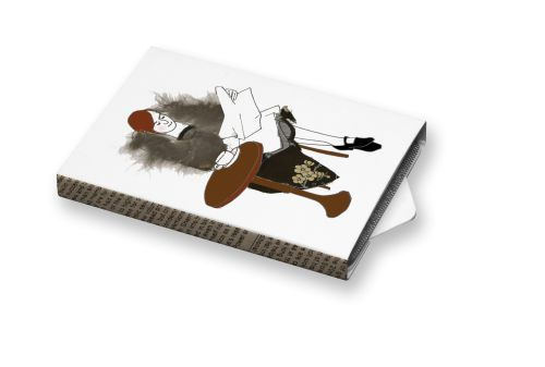 Kavárna #ilustration #ilustrace #ChewingGums #žvýkačky #CharityGums #kavarna