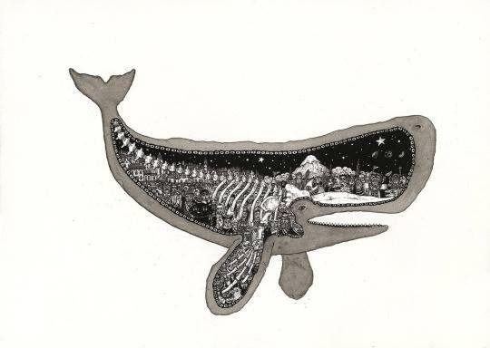 Sperm whales pencils 1800s