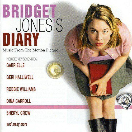 """Os dois álbuns da trilha sonora dos filmes britânicos """"O Diário de Bridget Jones e Bridget Jones no Limite da Razão"""" lançados em 2001 e su..."""
