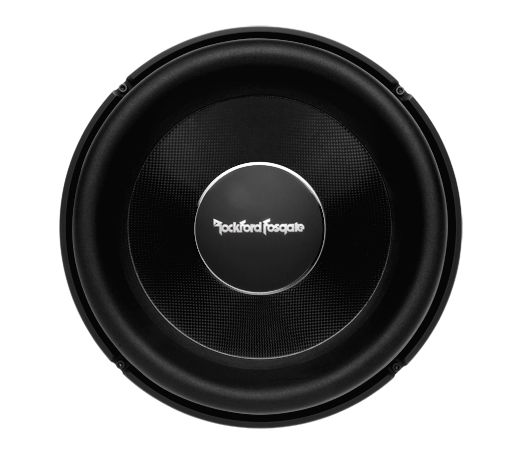 The Power T2S2-13 subwoofer features 13-inches of effective radiating cone area and a single 1-ohm voice coil for ease of wiring.