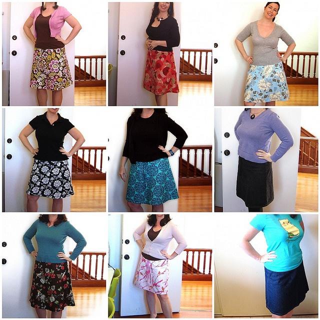 Making An A Line Skirt 80