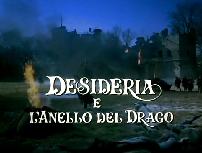 Desideria e l'anello del drago -