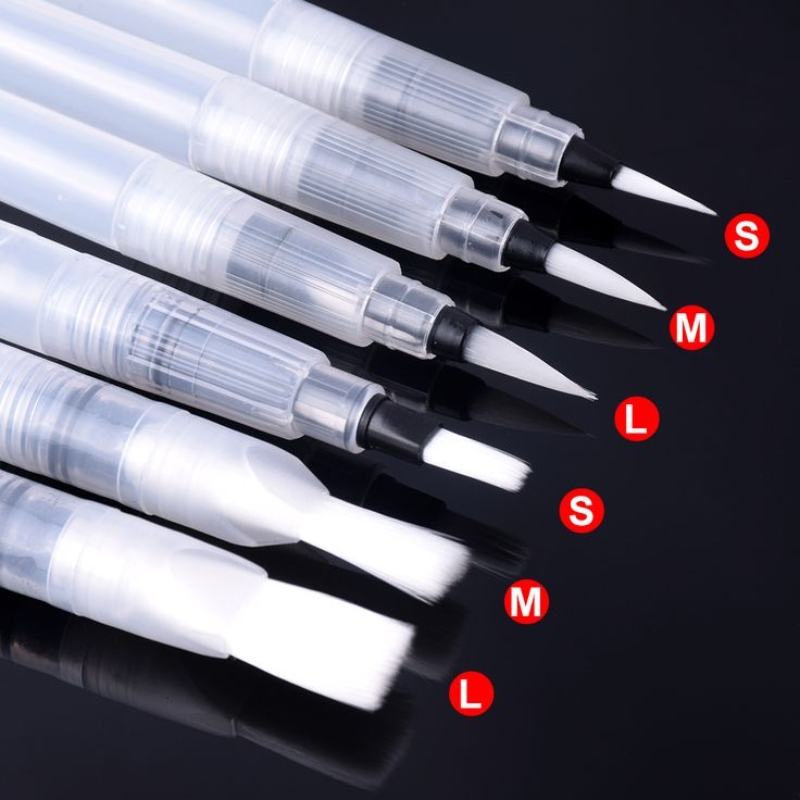 Cheap watercolor brush pen, Buy Quality paint watercolor directly from China water color brush pen Suppliers: 6 PCS Portable Water Color Brush Pen Paint Watercolor Brush Pen caneta colorida for Beginner Painting Office Gift