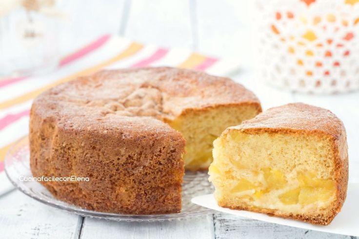 La torta matta alle mele è un dolce favoloso, soffice e profumatissimo, si prepara in 5 minuti, senza sporcare e senza bilancia, solo con una forchetta!