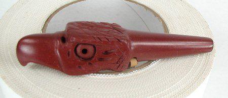 Lakota catlinite pipestone eagle pipe tamper