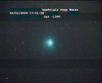 lightstick at -1400mtr