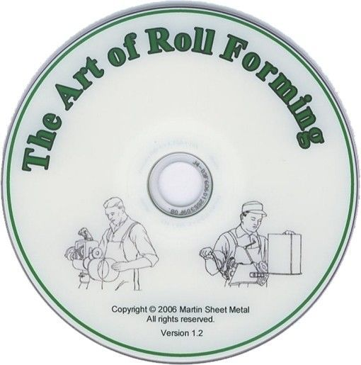 "This is a digital quality DVD on the ""Art of Roll Forming"" using a variety of PEXTO hand rotary machines. Explained in the DVD are instructions on forming a ""Wire Edge"", ""Set-down Seam"", ""Double Seaming"", and ""Beading"". 