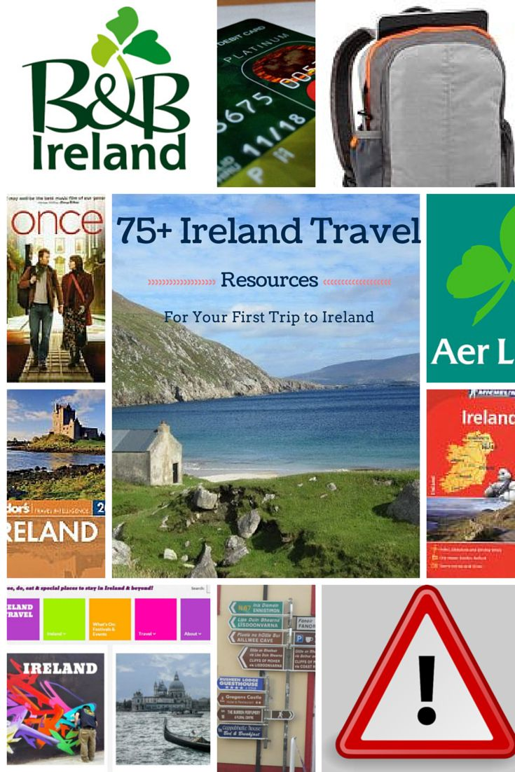 A ton of resources for planning a trip to Ireland...because everyone should go sometime in their life. :-)