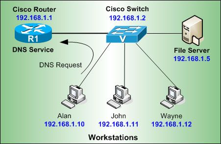 The DNS protocol is used to resolve FQDN (Fully Qualified Domain Names) to IP addresses around the world. This allows...
