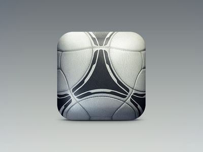 Soccer App Icon (Concept) #ios #icon #design #inspiration #mobile #apps
