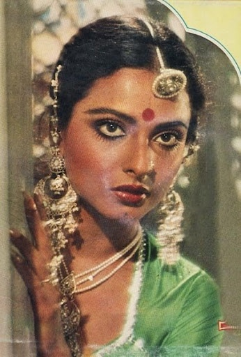 Rekha-the eyes that could kill a thousand men.