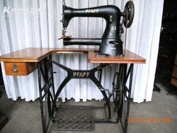 Pfaff 40 Sewing Machine Leather Sewingmachine Cilinderarm Beauteous Vintage Leather Sewing Machine