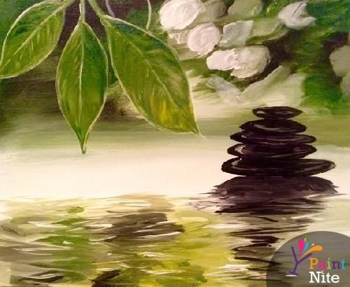 Paint Nite Pittsburgh | Now and Zen at Buffalo Blues 01/15/2015. this would be fun to do