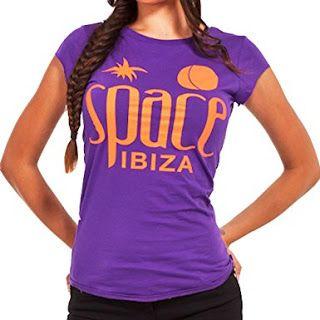 CAMISETAS DE IBIZA MUJER: Space Ibiza: Camiseta Mujer Logo Nativo