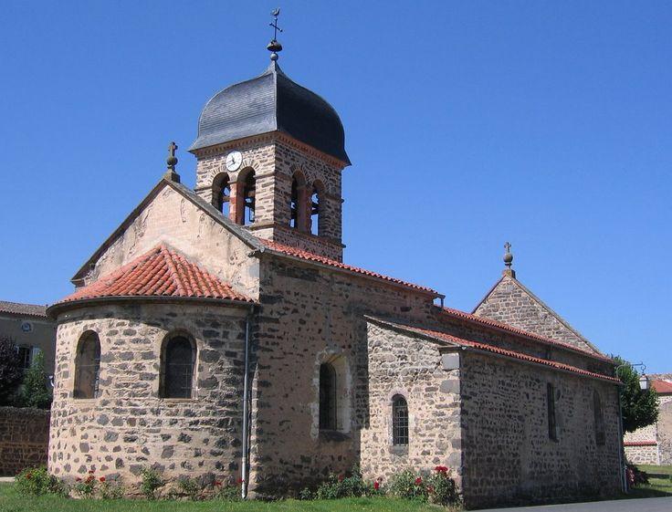église de Villeneuve-Lembron, Auvergne