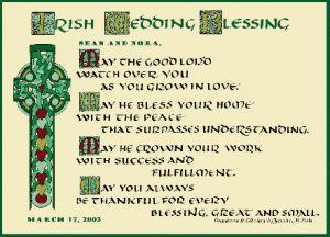 Irish Wedding Blessing