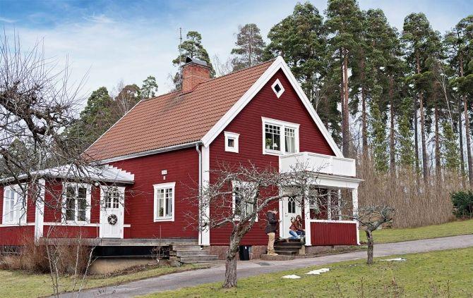 Ten stary drewniany dom położony jest niedaleko jeziora, otoczony lasem. Raj na ziemi!
