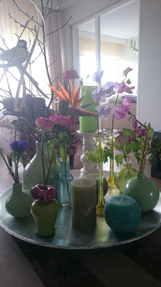 Bloemen van Tuinis Veenema bloemsierkunst.Koninginneweg Amsterdam!