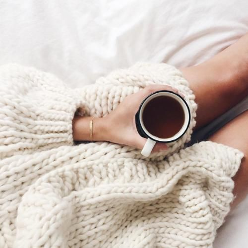 #cozy #bigsweaters #coffee #tea