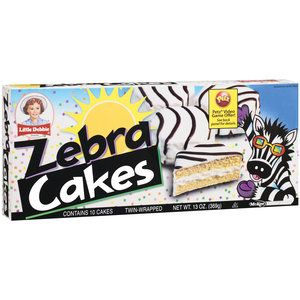 Little Debbie Snacks Zebra Cakes