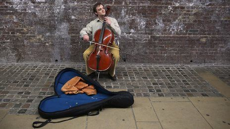 Where is the hardest place in the UK to be a busker?