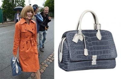 Anna Wintour carried a $33,000 #LouisVuitton bag to Wimbledon