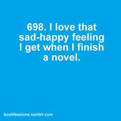 (:(: Sad Happy, Finish A Books, Hunger Games Series, Books Nerd, Books Reading Finish, So True, Great Books, New Books, Good Books