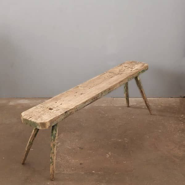 Vintage Sitzbank/ Board aus Holz no. 199